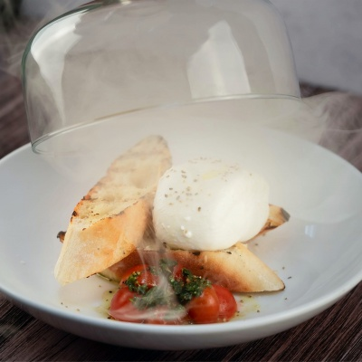 Red Light Palm Beach Smoked Burrata